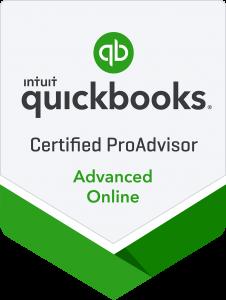 Certified QuickBooks Advanced Online ProAdvisor