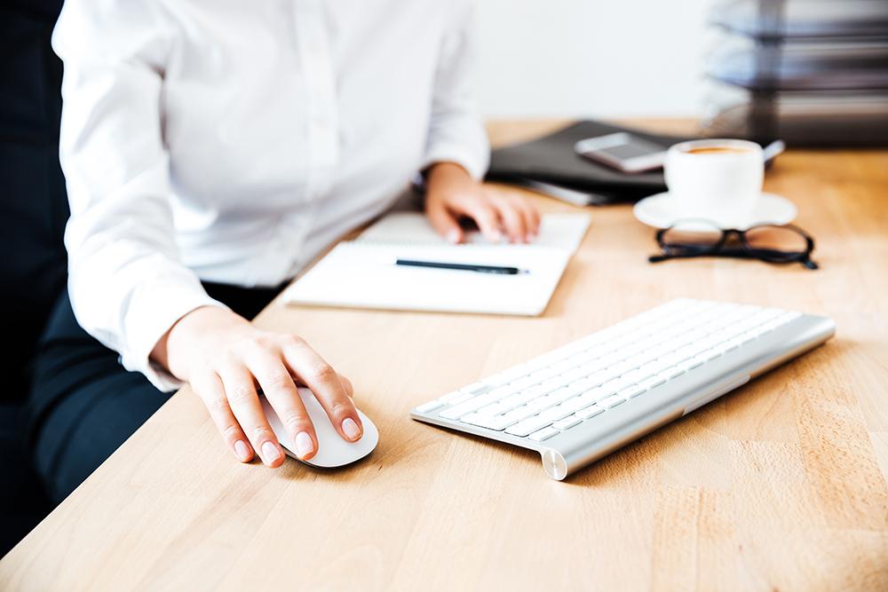 Women using a Keyboard