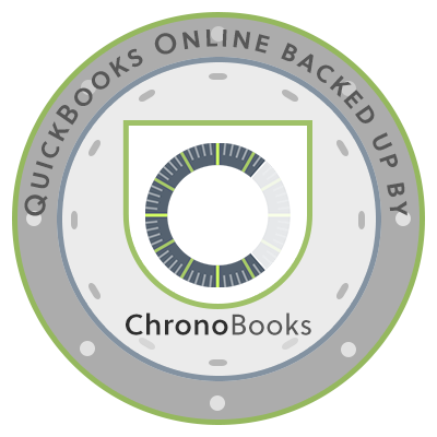 QuickBooks Online Backed up by Chronobooks
